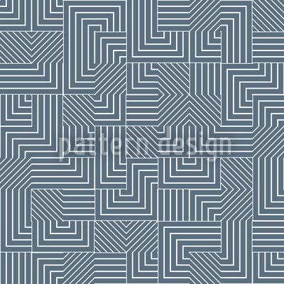 Geometrisches Labyrinth Nahtloses Vektormuster