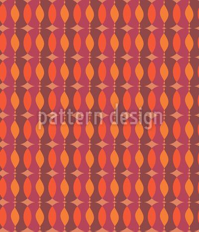 Kettchen Geometrie Rapportiertes Design