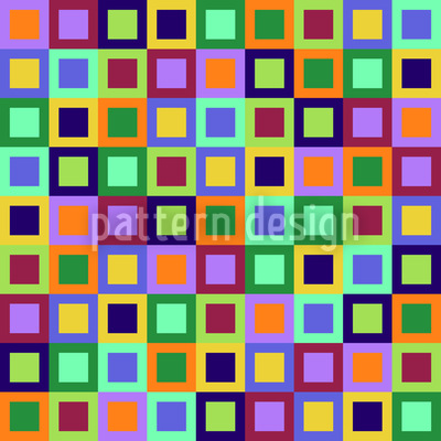 Windows To The Squares Repeating Pattern