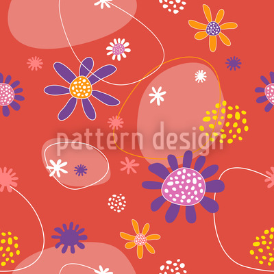 Flowers Mira Repeat Pattern