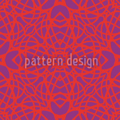 Neon Gothic Repeat Pattern