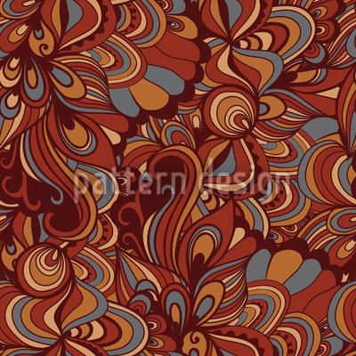 Fantastische Schokoladen Fabrik Vektor Muster