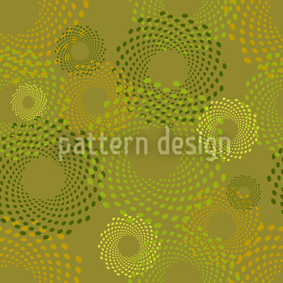 Straw Circles Vector Ornament