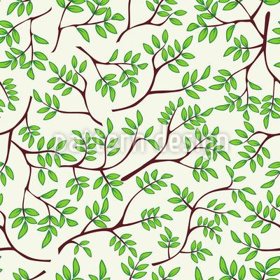 Feine Äste Muster Design
