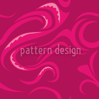 Paikea Vibes Seamless Vector Pattern Design