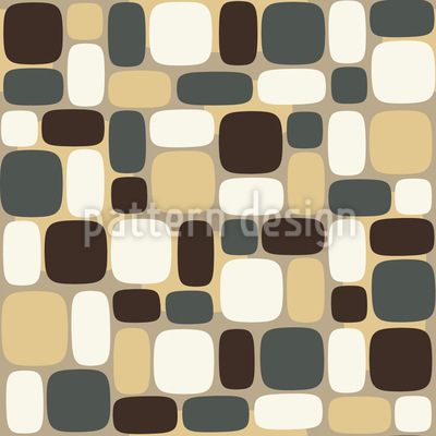 Stone By Stone Seamless Vector Pattern
