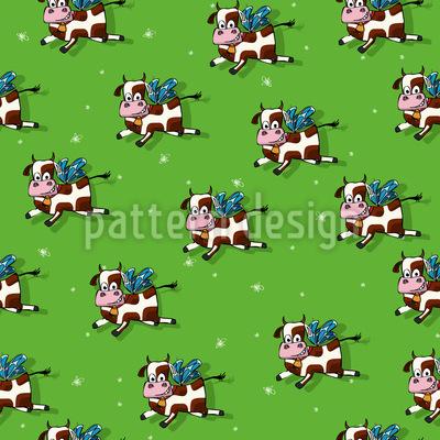 Flying Bulls Repeat Pattern