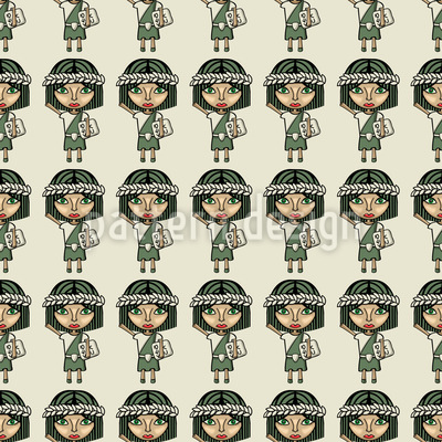 Imperial Feminists Pattern Design