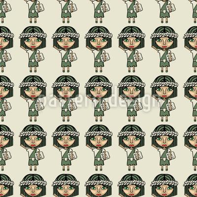 Kaiserliche Feminstinnen Musterdesign