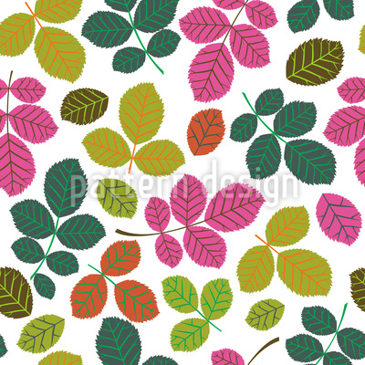 Leaf Potpourri Vector Ornament