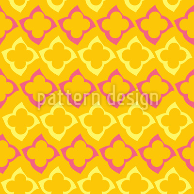 Oriental Summer Pattern Design
