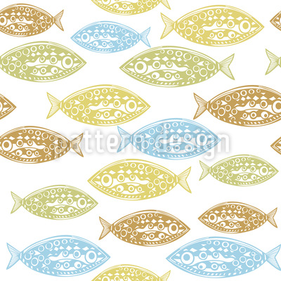 Pacific Fish Pattern Design