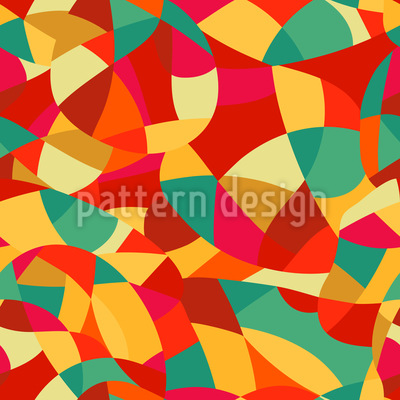 Abstract Expressionism Pattern Design