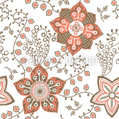 Von Zarter Natur Muster Design