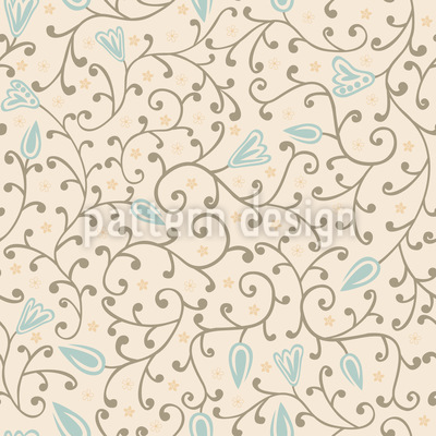 Floral Softness Seamless Vector Pattern