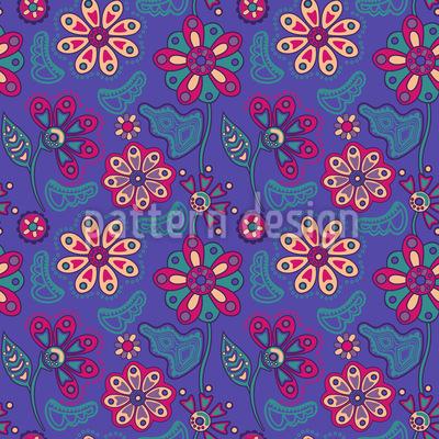 Arditas Nachtgarten Vektor Muster