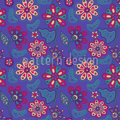 Arditas Night Garden Vector Pattern