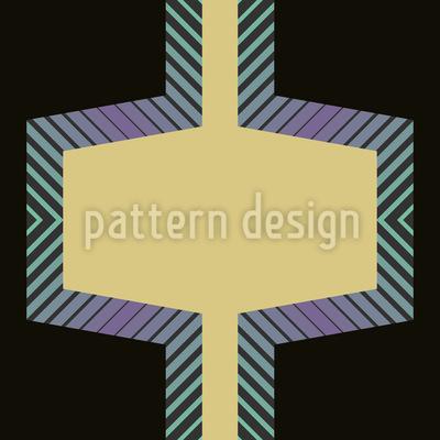 Hexagon Factory Nahtloses Muster
