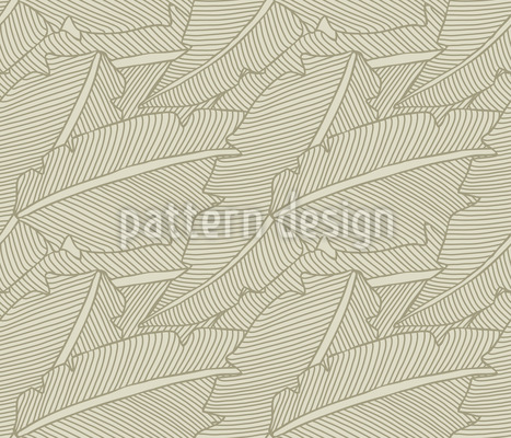 Gentle Foliage Pattern Design
