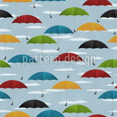 Verdeckte Ermittlung Bei Regen Vektor Muster