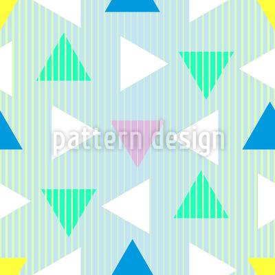 Dreiecke Aus Den Achzigern Nahtloses Muster