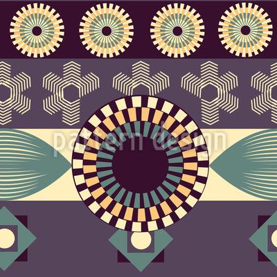 Vintage Geometrie  Vektor Ornament