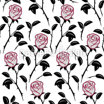 Schneewittchens Rosen Vektor Design