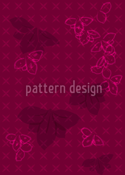 Orchidea Vector Pattern