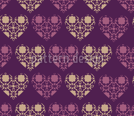 The Gothic Hearts Club Vector Ornament