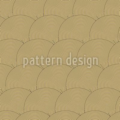 Goldkreise Vektor Muster