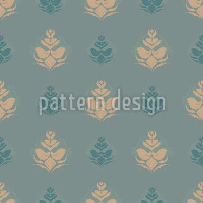 Cool Flower Opulence Pattern Design