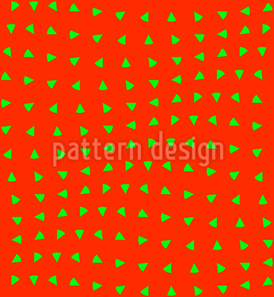 Strawberries Move Pattern Design