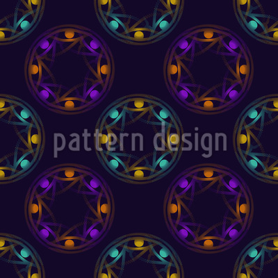 Horus Circles Vector Pattern