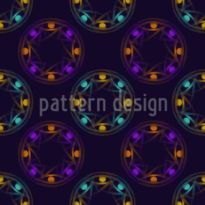 Horus Kreise Vektor Muster