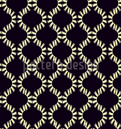 African Symbiosis  Seamless Vector Pattern Design