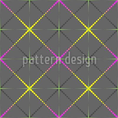 Karos Funkeln Muster Design