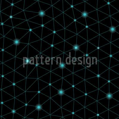 Im Netz Des Kopernikus Nahtloses Muster