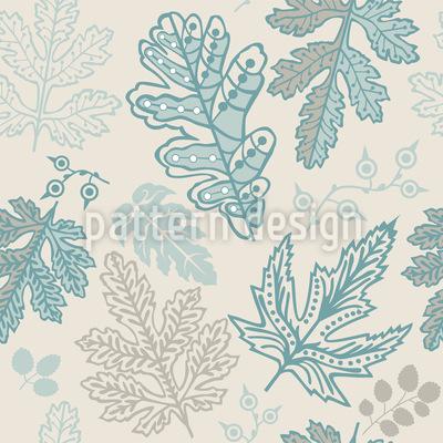 Die Seele Der Blätter Muster Design