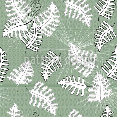 Grünes Moos Nahtloses Muster