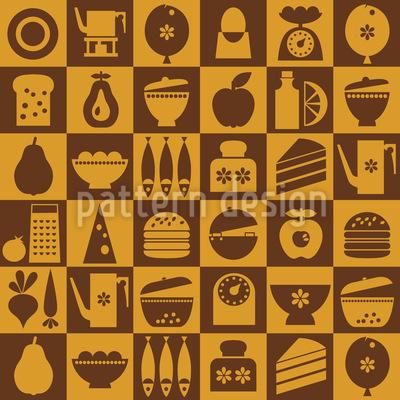 Das Hausfrauen Schach Muster Design