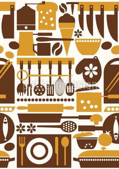 Tante Toris Küche Musterdesign