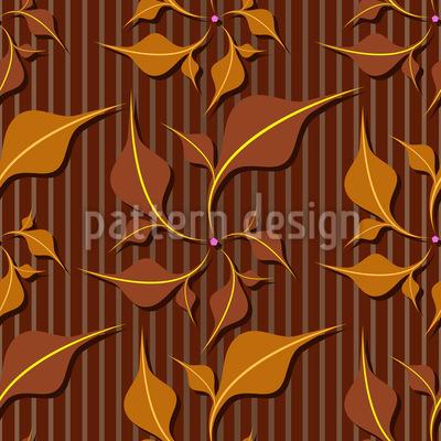 Blattwerk Eleganz Designmuster