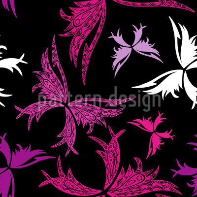 Papillon Seamless Pattern