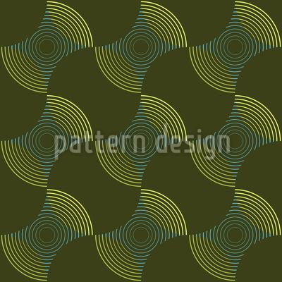 Schall Kreise Designmuster