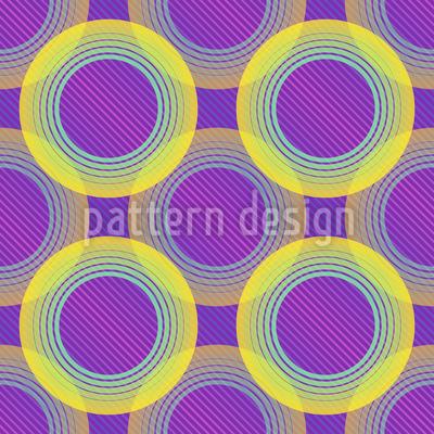 DJ Kreise Vektor Muster
