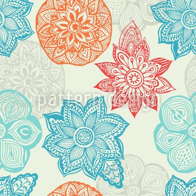 Mandala Träume Musterdesign