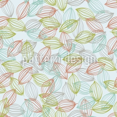 Daydreaming Under The Trees Vector Pattern