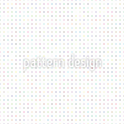 Colorful Polkasquare Pattern Design