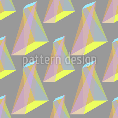 Object Twist Seamless Vector Pattern Design
