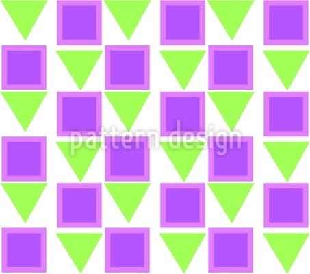 Kleine Dreiecke Vektor Muster